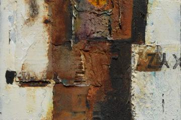 Exit Series 02 Powertex Mixed Media canvas