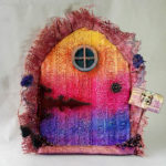 Powertex fairy door by Kore Sage