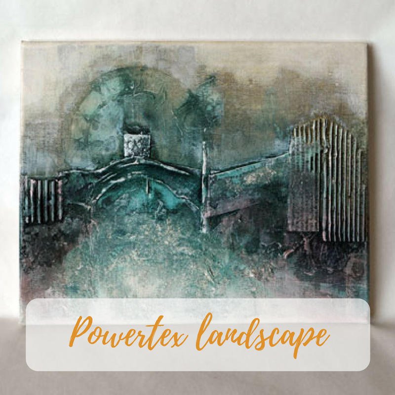 Powertex landscape