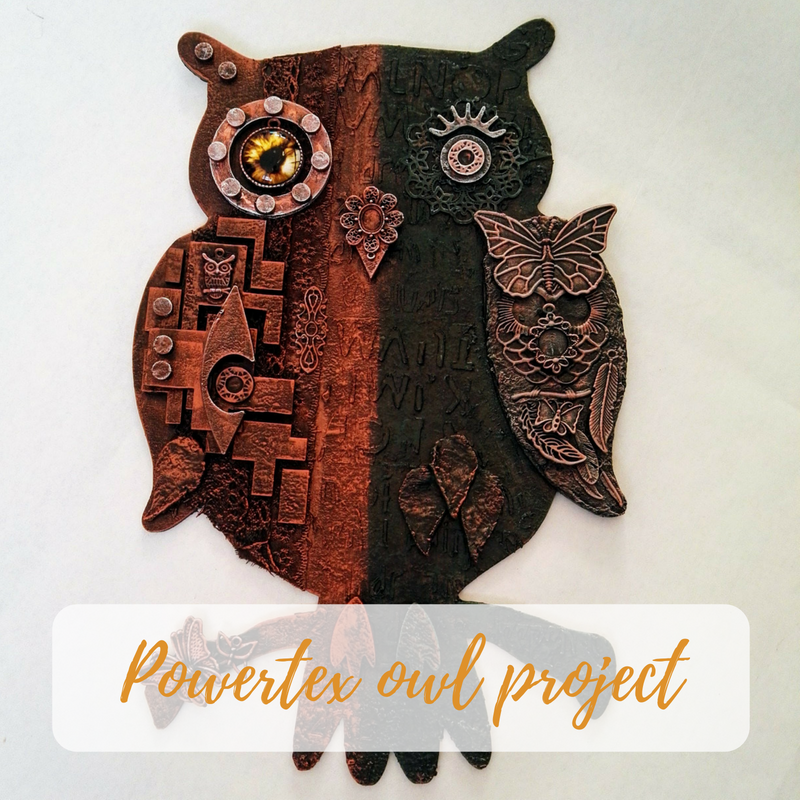 Powertex owl project