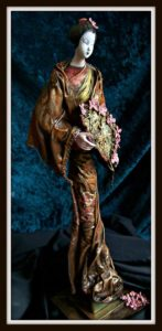 Donna McGhie Artist Powertex figure