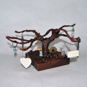 Finished treasure tree
