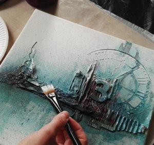 Powertex Canvas by Kore Sage