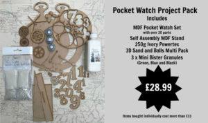 Powertex pocket watch kit
