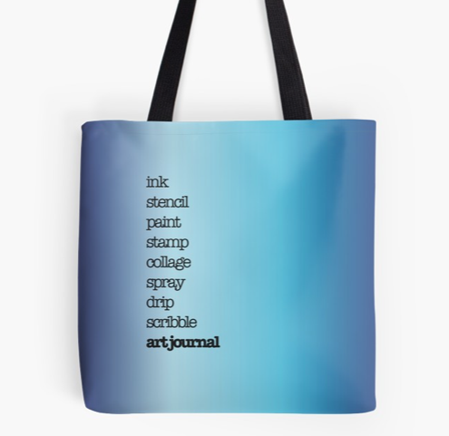 Blue Tote Bag by Kore Sage