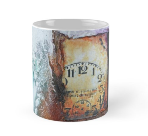 Mixed media mug by Kore Sage