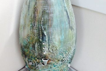 Large vase by Jinny Holt