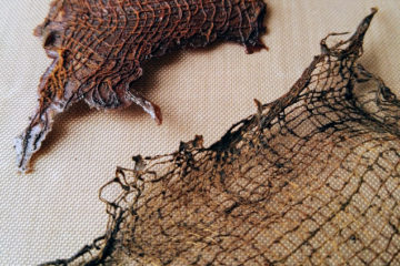 Rusty Fabric with Rusty Powder