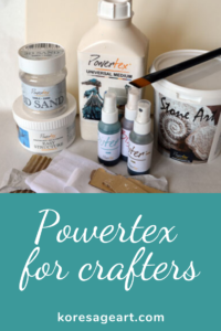 Powertex for crafters instruction