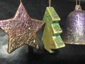 Powertex tree decorations by Kore Sage