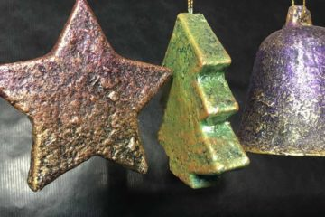 Powertex tree decorations by Kore Sage