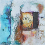 Mixed media art with rust by Kore Sage