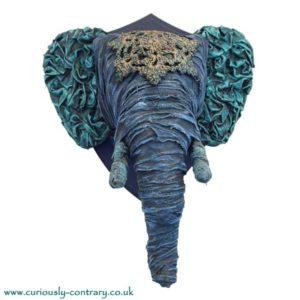 Powertex Elephant by Abigail Lagden