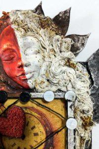 Art Doll face and hair