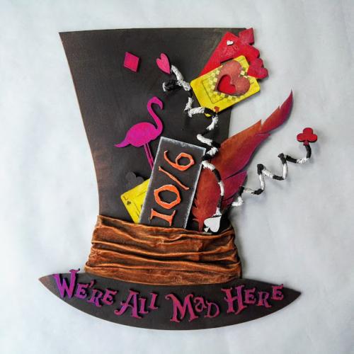 MDF top Hat by Kore Sage