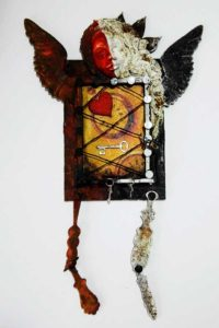 Powertex Mixed Media Art Doll, by Kore Sage