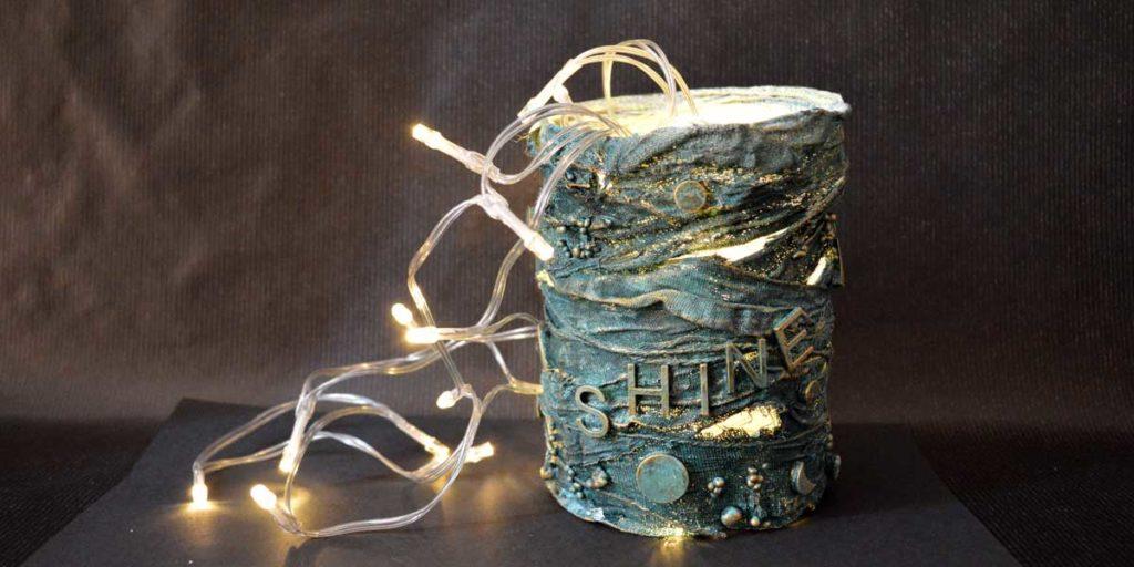 Powertex lamp by Kore Sage