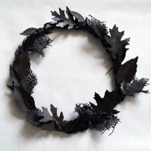 Wreath in Bronze Powertex