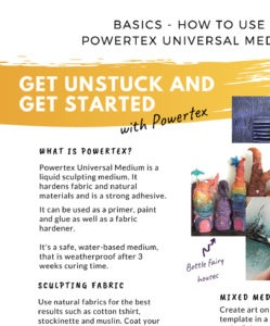 How to use Powertex Universal Medium