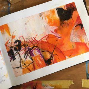 Sketchbook page by Kore Sage