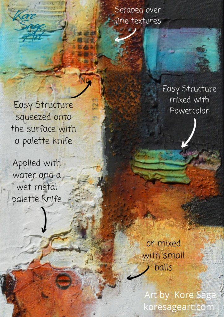 Powertex Easy Structure art by Kore Sage