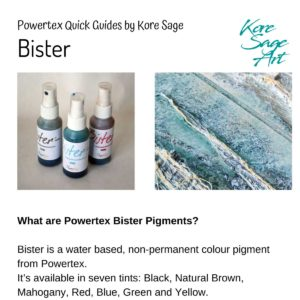 How to use Powertex Bister